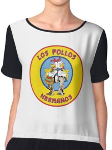 Breaking Bad - Los Pollos Hermanos -  Yellow Circle Variant Chiffon Top