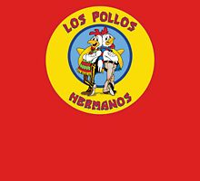 Breaking Bad - Los Pollos Hermanos -  Yellow Circle Variant Unisex T-Shirt