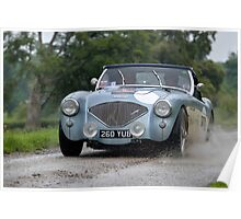 The Three Castles Welsh Trial 2014 - Healey Poster