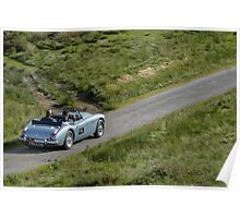 The Three Castles Welsh Trial 2014 - Healey 3000 Poster