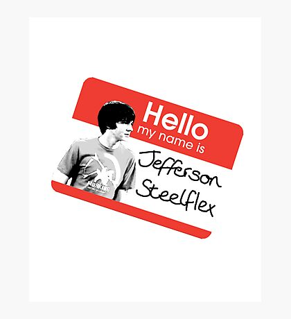 Jefferson Steelflex + Photo - Drake and Josh Inspired Photographic Print