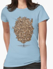 Tree city Womens Fitted T-Shirt