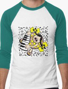 piano baby Men's Baseball ¾ T-Shirt