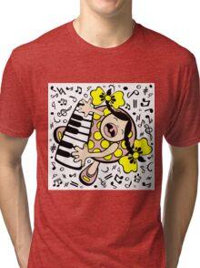 piano baby Tri-blend T-Shirt