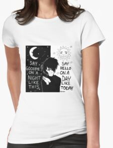 A Night Like This Womens Fitted T-Shirt