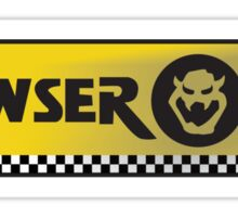 Bowser Oil Sticker