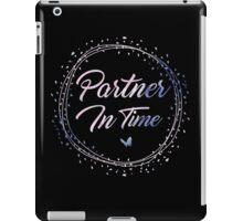 Partner In Time - Watercolor iPad Case/Skin