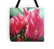 To Sketch the Pink Petals Tote Bag