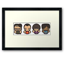 Mr Big Bang Theory Framed Print