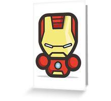 Mr Ironman Greeting Card