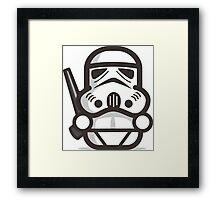 Mr Trooper Robot Framed Print