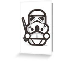 Mr Trooper Greeting Card