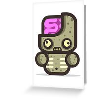 Mr Zomby Greeting Card