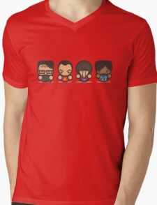 Mr Big Bang Theory Mens V-Neck T-Shirt