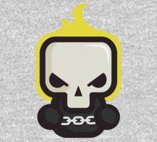Mr Ghost skull One Piece - Short Sleeve