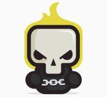 Mr Ghost skull Kids Tee