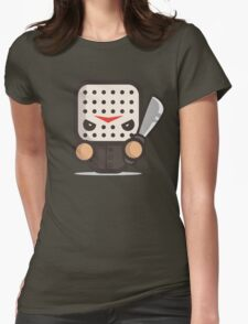 Mr Friday 13 th Jason Halloween Womens Fitted T-Shirt