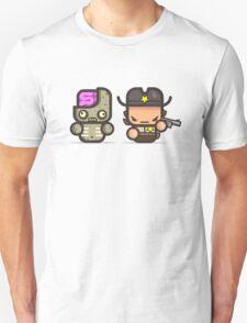 Mr Rick Zomby walking T-Shirt