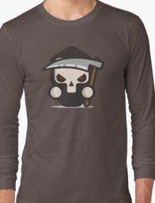 Mr Death skull Halloween Long Sleeve T-Shirt