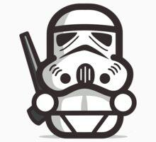 Mr Trooper Robot Kids Tee