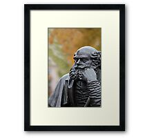 Wisdom autumn of life Framed Print