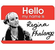Regina Phalange - FRIENDS Inspired Photographic Print