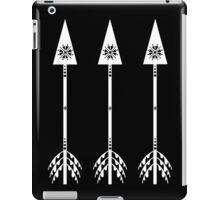 Arrows - Black iPad Case/Skin