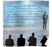 Remembering D-Day Poster