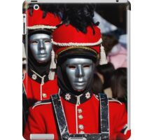 red guard iPad Case/Skin