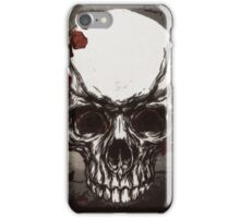 Skull n' rose iPhone Case/Skin