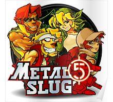 Metal Slug 5 Poster