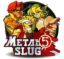 Metal Slug 5 Photographic Print