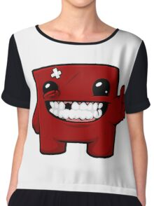 Super Meat Boy Chiffon Top