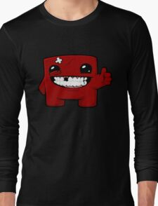 Super Meat Boy Long Sleeve T-Shirt