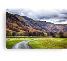 Langdale Valley Canvas Print