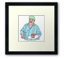 Huey's Cooked Adventures Framed Print