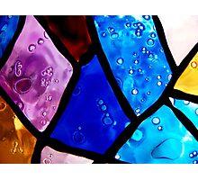 Coloured bubbles Photographic Print