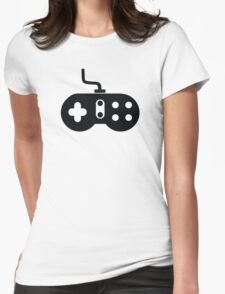 Retro Video Game Controller Womens Fitted T-Shirt