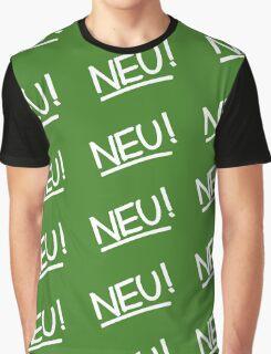 Neu! (white) Graphic T-Shirt