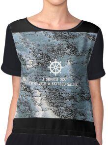 Sea sailor Chiffon Top