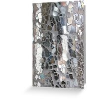 shattered glass Greeting Card
