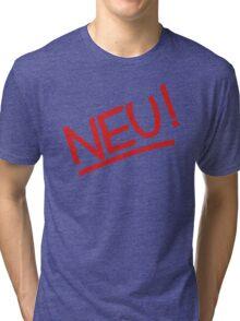 Neu! (red) Tri-blend T-Shirt