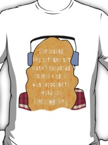 "Eleanor and Park - ""Art"" Quote T-Shirt"