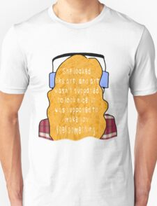 """Eleanor and Park - """"Art"""" Quote T-Shirt"""