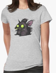 Buuuu Moonlight Monster Rat Womens Fitted T-Shirt