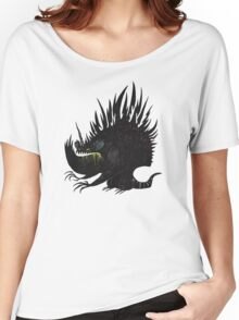 Buuuu Moonlight Monster  Women's Relaxed Fit T-Shirt