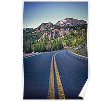 """Bear Lake Road"" RMNP Poster"