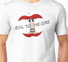 Evil To The Apple Core Unisex T-Shirt