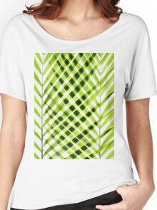 Palm leaves I Women's Relaxed Fit T-Shirt