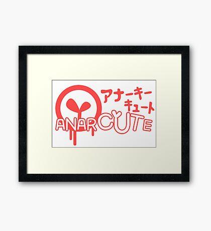 Anarcute Framed Print